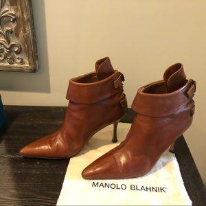 Manolo Blahnik Ankle length boots